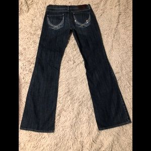 Limited Edition VS PINK Bling Boot Cut Jeans SZ 6